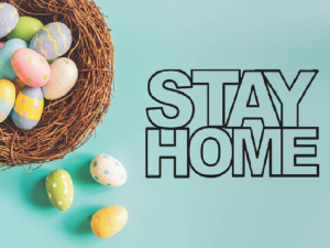 stay home easter